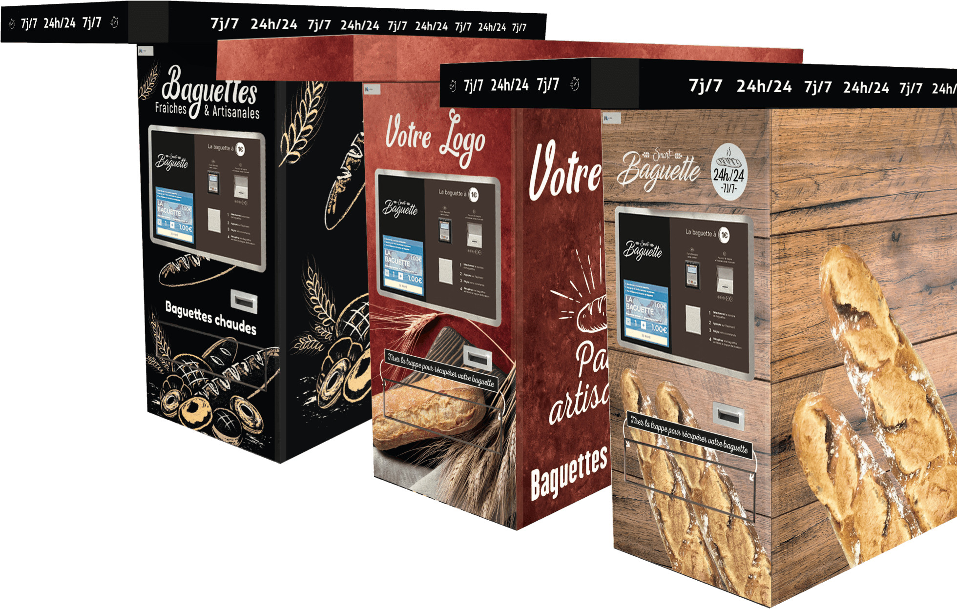 visuel de point de vente de Smart Baguette